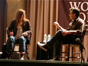 Patti Smith and Jonathan Lethem